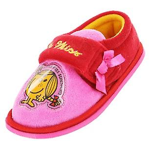 Girls Little Miss Sunshine red and pink slippers