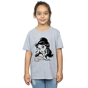 Disney Princess Girls Belle Sparkle T-Shirt