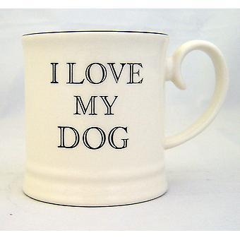 Fairmont & belangrijkste Tankard mok, I Love My Dog