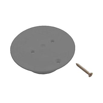 AquaStar DIV0105 Floor Return Diverter Plate - Dark Gray
