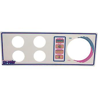 Len Gordon 930244-401 AquaSet Pool & Spa Control 4 Button Overlay
