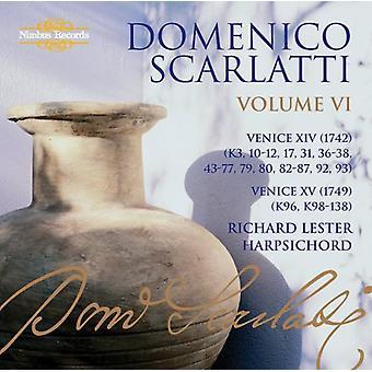 A. Scarlatti - Domenico Scarlatti: L'intégrale des sonates, Vol. 6 - importation USA Venise Xiv & Xv [CD]