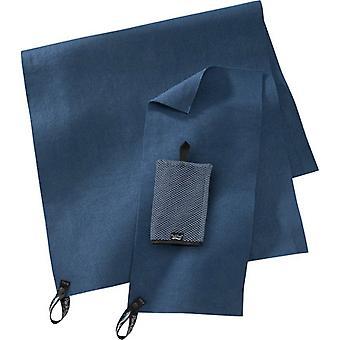 Packtowl oprindelige blå udendørs håndklæde udstyr til rejse- og vandreture