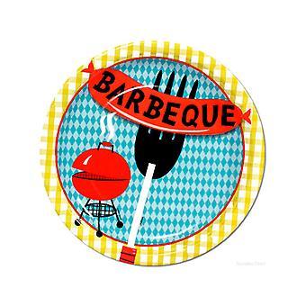 Barbecue de barbecue Plaques