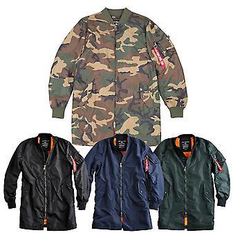 Άλφα Βιομηχανίες Ανδρών Μετάβαση Jacket MA-1 TT Παλτό