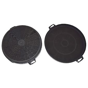 Carbon Charcoal Cooker Hood Filter Type 210 Pack of 2