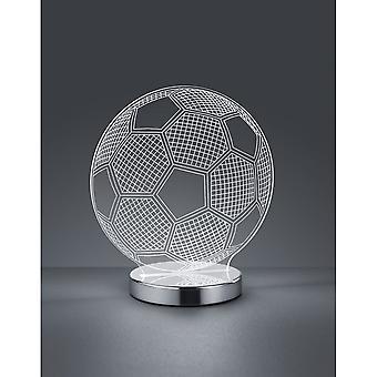 Trioen belysning Ball moro krom metall bordlampe