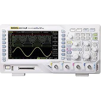 Rigol MSO1104Z-S Digital 100 MHz 20-channel 500 MSa/s 3 MP 8 Bit Digital storage (DSO), Mixed signal (MSO), Function generator