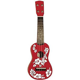 MSA Musikinstrumente UK 31 Ukulele Red, White