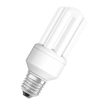 オスラムの省エネ電球 EEC: (+ + - E) 119 mm 230 V 11 W E27 = 51 W 暖かい白管形状 1 pc(s)