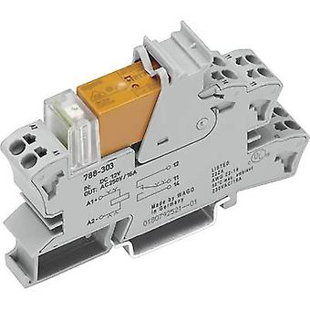 WAGO 788-512 Relay component Nominal voltage: 24 V AC Switching current (max.): 8 A 2 change-overs 1 pc(s)