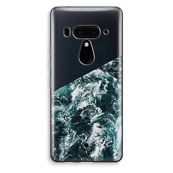 HTC U12 + gennemsigtig sag (Soft) - Ocean bølge