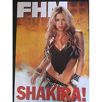 Shakira FHM Promotional Poster
