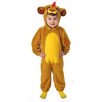Furry Kion Die Garde der Löwen Overall Kinderkostüm