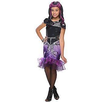 Raven koningin Deluxe kostuum ooit na hoge oorspronkelijke kind kostuum