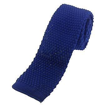 David Van Hagen strikket slips - kongeblå