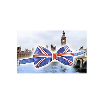 Buigt en banden strikje Engeland UK