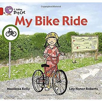 Mijn fietstocht: Band 02a/rood een (Collins Big Cat)