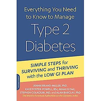 Managing Type 2 Diabetes with the Low GI Diet (New Glucose Revolution)