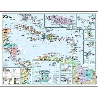 Caribbean Wall Map
