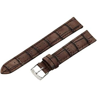 Morellato leather bracelet 18 mm Brown Larch A01U3936A70032CR18 man