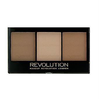 Makeup Revolution Ultra Sculpt & Contour Palette Light Medium C04