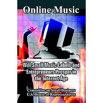 Online muziek wil kleine Labels en ondernemers voorspoedig zijn in het internettijdperk door de Commissie op Small Business