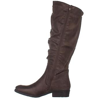 Bare Traps Womens Yulissa Almond Toe Knee High Fashion Boots