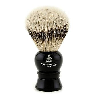 Truefitt & Hill Carlton Super Badger Shave Brush - # Ebony - -