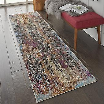 Radiant Runners Rad04 In Multi By Nourison