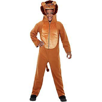 Costum pentru copii Lion Jumpsuit unisex Carnavalul de animale costum de leu Jumpsuit