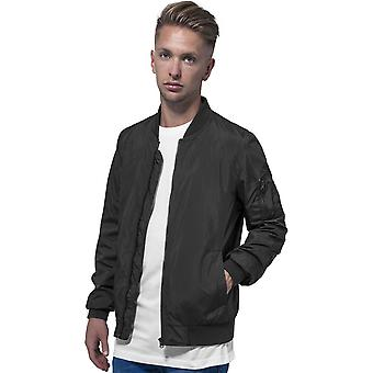 Cotton Addict Mens Polyester Casual Zip Up Bomber Jacket