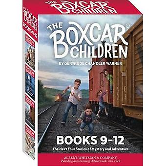 The Boxcar Children Mysteries Boxed Set #9-12 by Gertrude Chandler Wa
