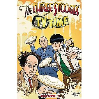 The Three Stooges Vol 2 TPB - TV Time by S -A - Check - 9781945205118