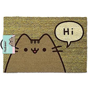 Pusheen Says Hi Doormat