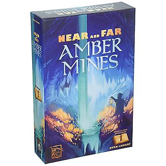 Near and Far Amber Mines Expansion Pack For Board Game