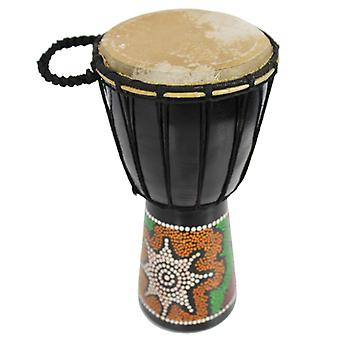 6 inch Painted Djembe