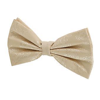 Dobell Boys guld Paisley bow tie pre-bunden