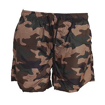 Brave Soul Hombres camuflaje impresión Swim Shorts