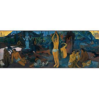 D'où viennent nous, Qu'est-ce que nous, Où aller, Paul Gauguin, 80x30cm