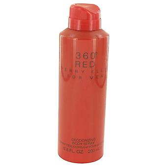 Perry ellis 360 red body spray by perry ellis 533491 200 ml