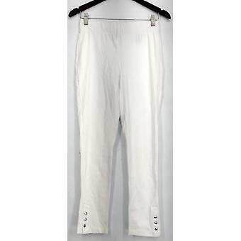 Slimming Options for Kate & Mallory Leggings Pull On 2 Waistband White A434323