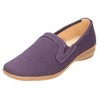 Dr Keller Slip On Low Wedge Loafer Shoes