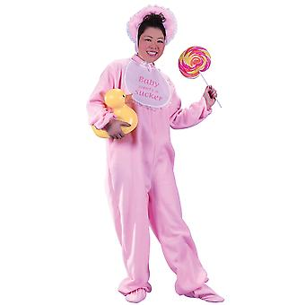 Be My Baby Infant Funny Pink Adult Women Costume One Size