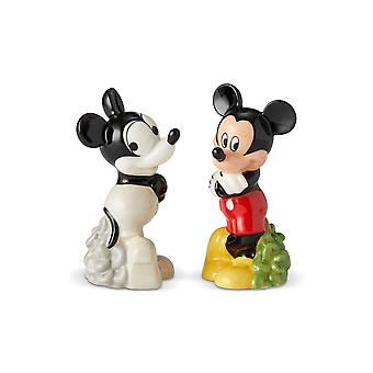 Salt & Paper Shaker - Disney - Mickey Then and Now New 6002271