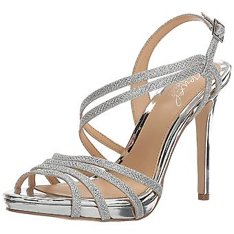 BADGLEY MISCHKA Womens Humble Open Toe Special Occasion Ankle Strap Sandals