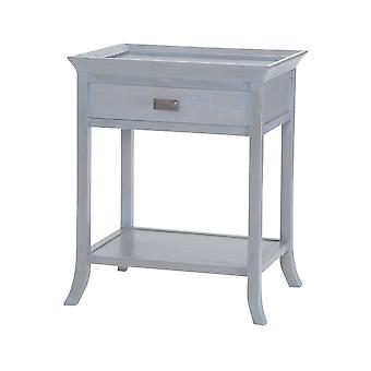 Tamara accent table in gravesend grey