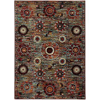 Sedona 6408k multi indoor area rug rectangle 7'10