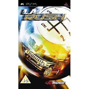 LA Rush Showdown (PSP) - Nouveau