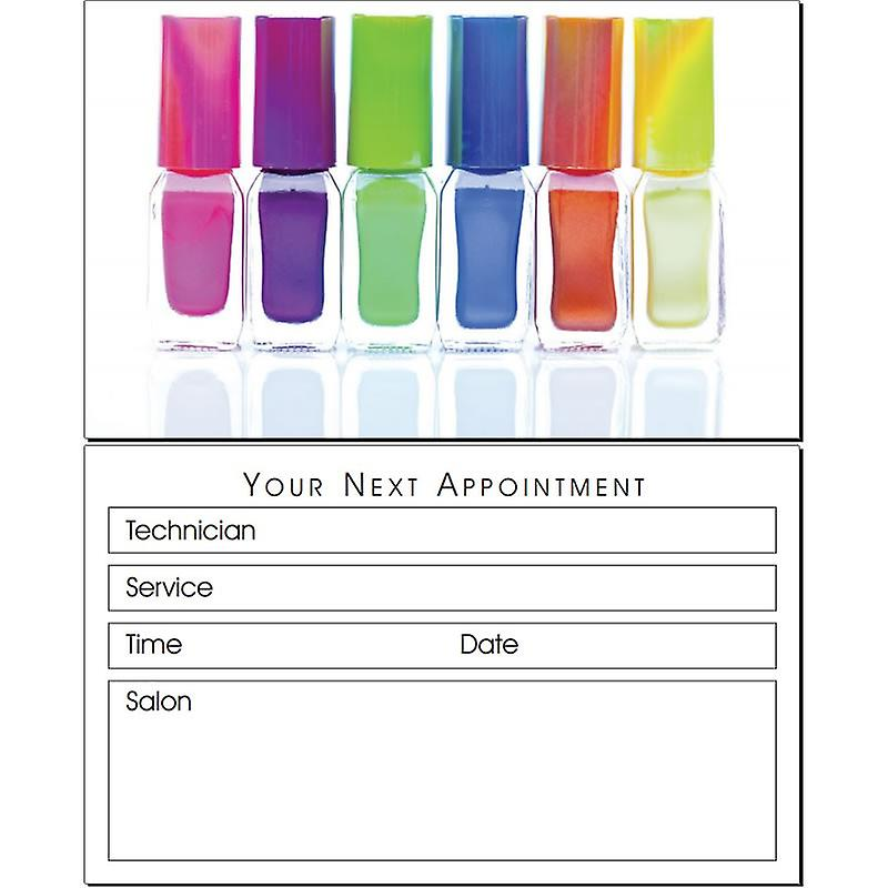 Agenda Appointment Cards Manicure/Multi-Varnish AP1N (100)
